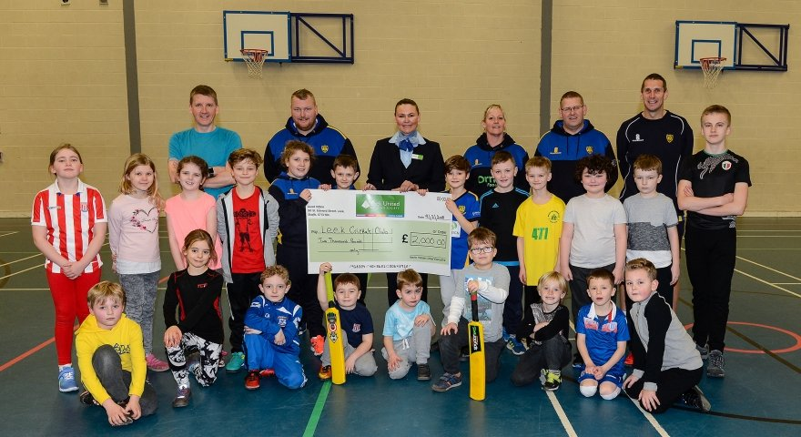 Sponsorship 'follow-on' for young cricketers…