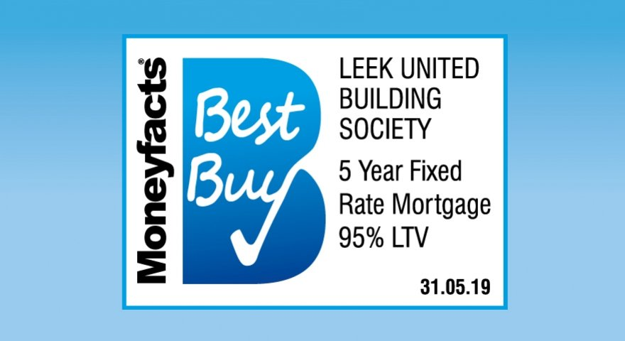Our new 5-year fixed rate mortgage is a Best Buy with Moneyfacts