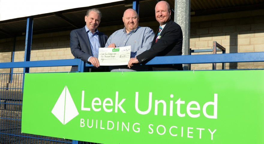 Society's re-United support for Leek Town FC