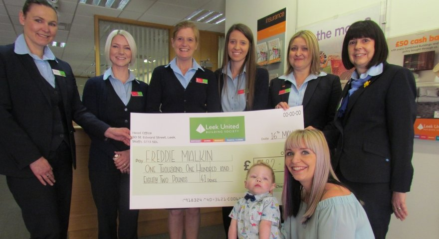 Branch's treatment fund boost for little Freddie