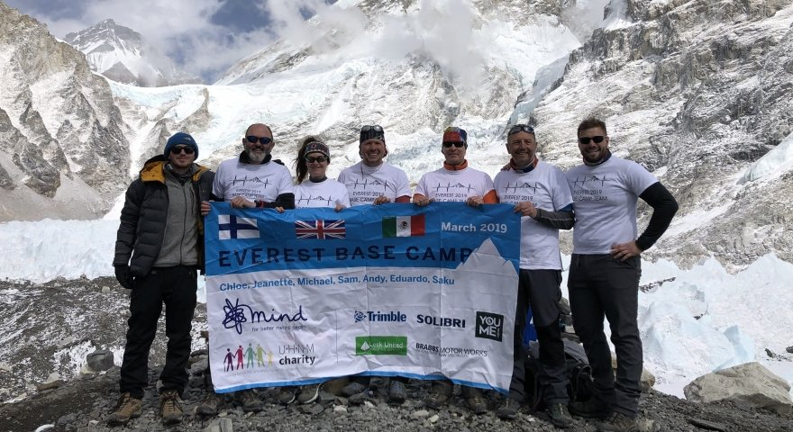Jeanette re-acclimatises to work after Everest