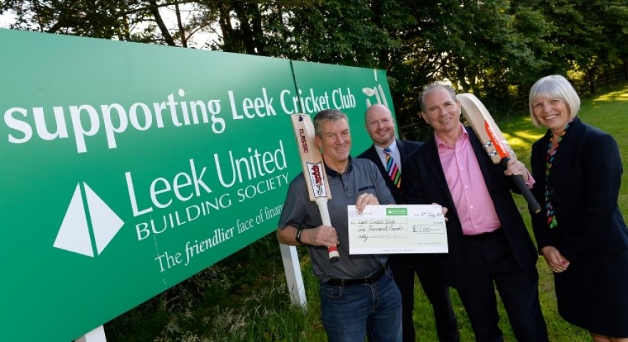 Leek United's 'follow-on' for cricket club