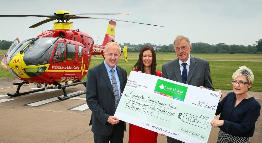 Air Ambulance fundraising soars again